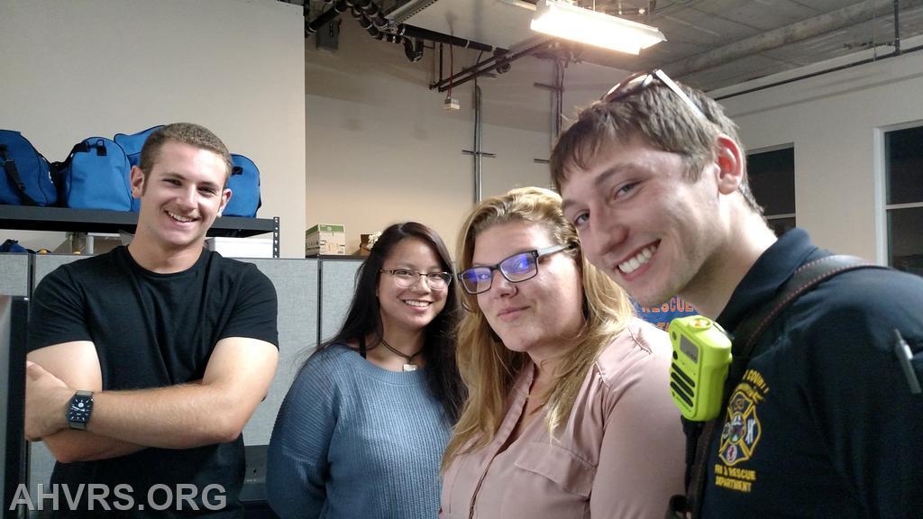 Max, Emma with Angela and Jonathan