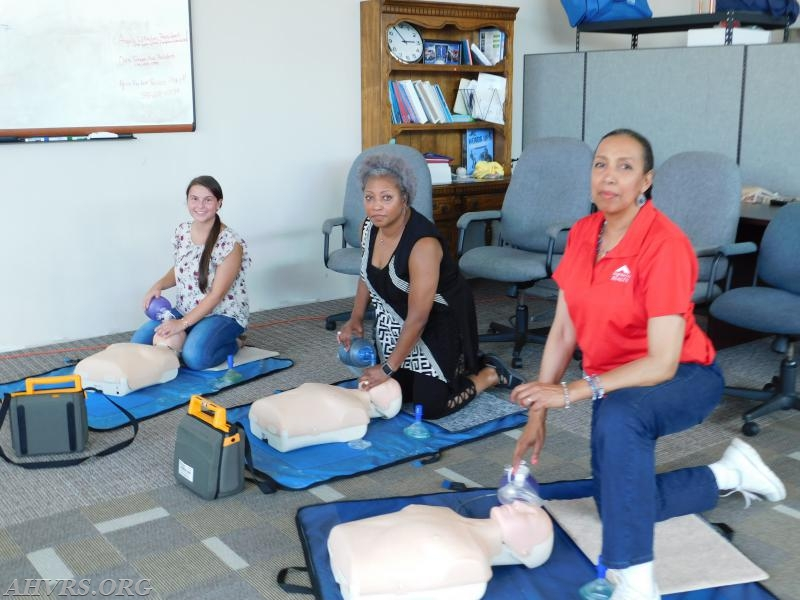 Adult CPR class