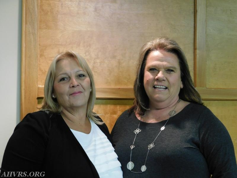 Patty Byram and Roxanne Dunn
