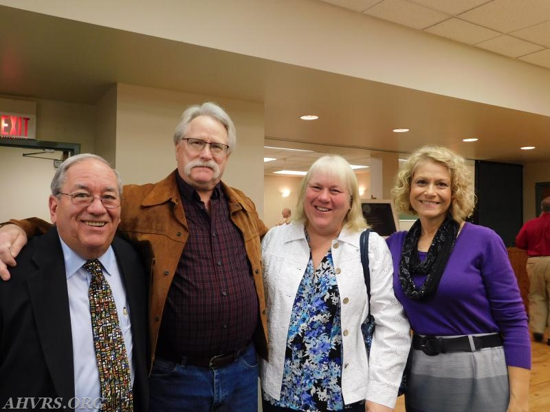 Guest Speaker Howard Rose with Lynn and Laurie Platt and Nancy Rose