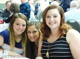 Danielle Shriver, Victoria Sommer and Suzy Brooks AHVRS Banquet 2017