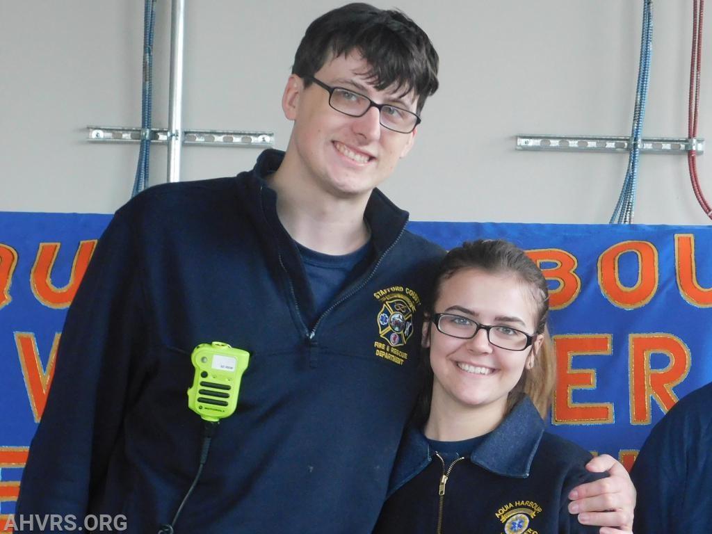 Nick Brown and Gabriella Rathke