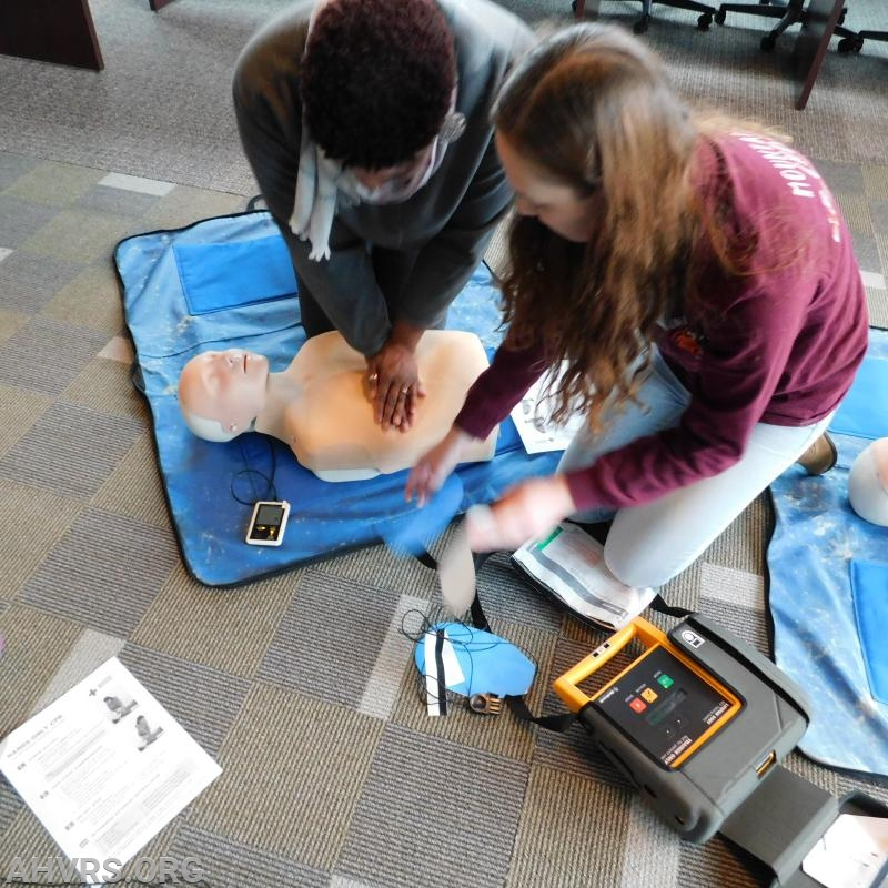 CPR and AED use