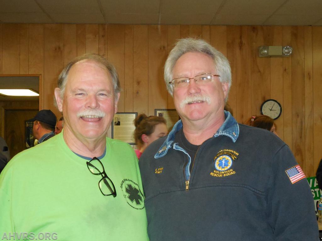 George Llangford and Lynn Platt VAVRS District 10 Meeting