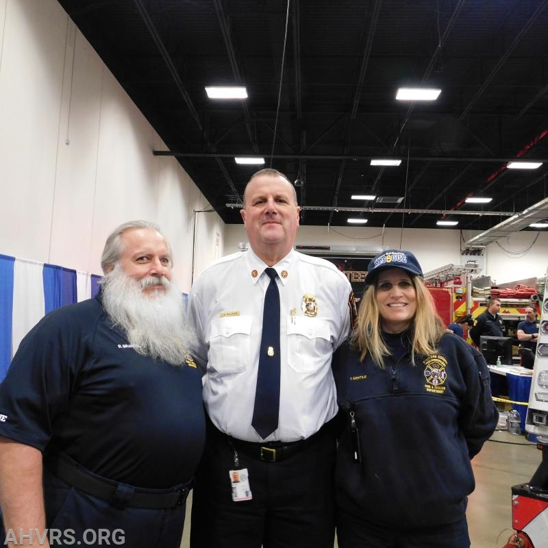 Bob, Chief Baldwin, Traci Gentile Kids Expo 2019