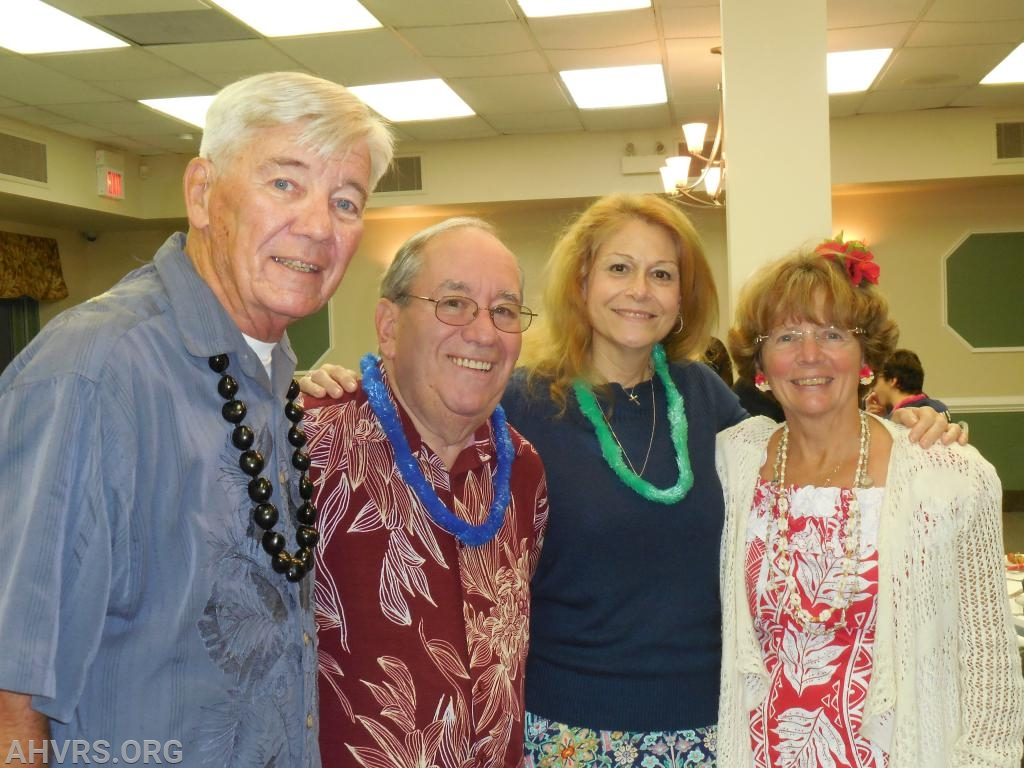 Life Members, Mike Schaefer, Howard and Nancy Rose and Sharon Schaefer