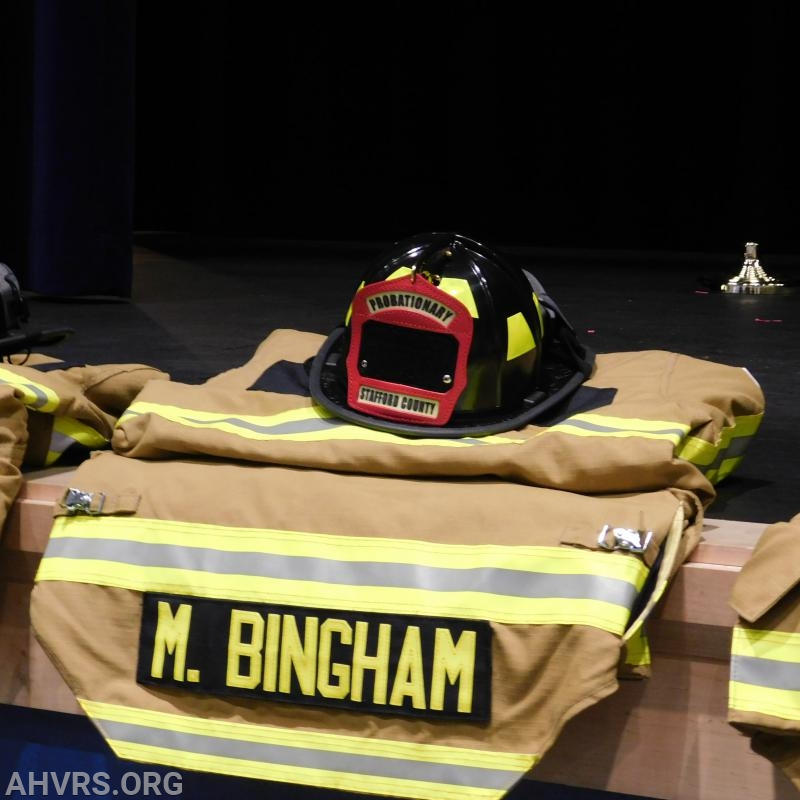 Firefighter Training Graduation 2018