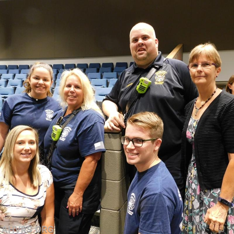 Firefighter/ EMT Graduation 2018
