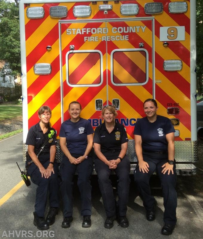 Jayne, Katie, Patricia, Stephanie