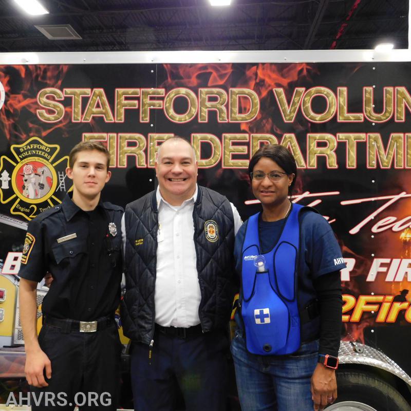 Volunteers at Kids Expo