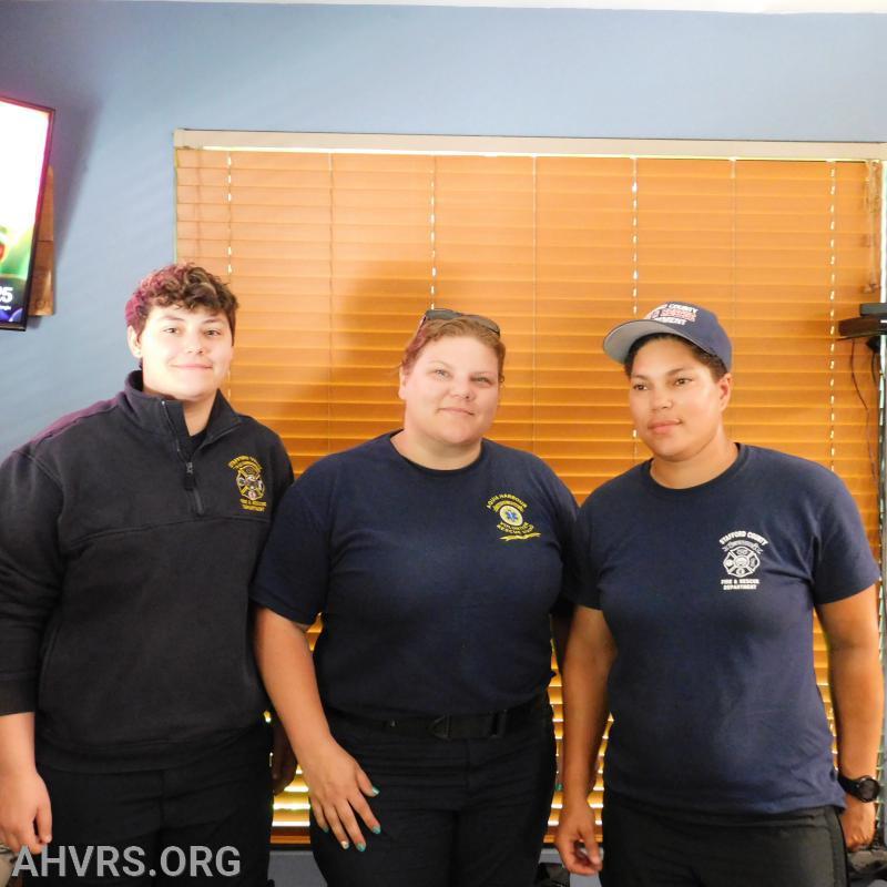 Hailey, Angela and Tameka