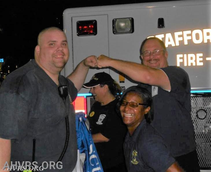 National Night out with James, Ericka and Bob