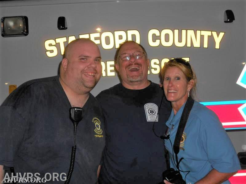 James, Bob and Patricia, National Night Out